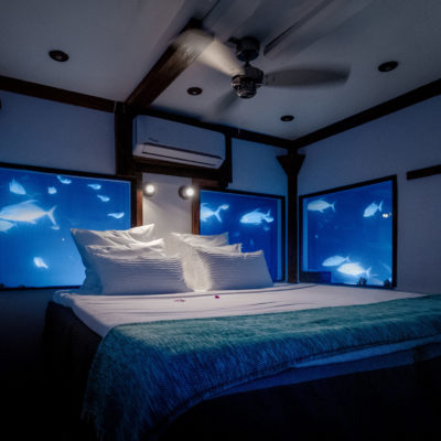Manta Resort on Pemba Island Underwater Hotel Room