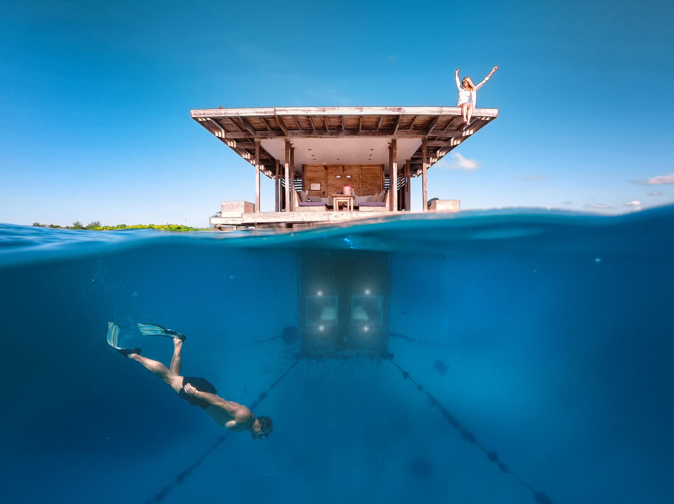 Underwater room
